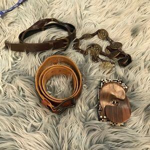 Accessories - Bundle of boho belts